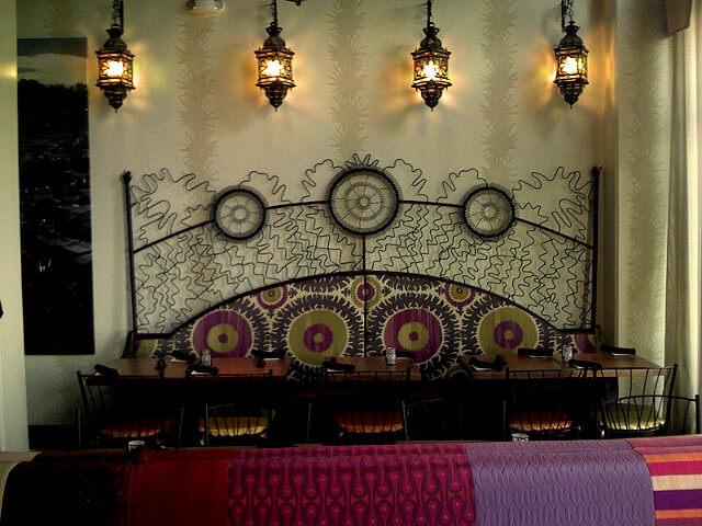 Medina Oven & Bar's interior