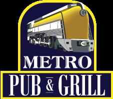 Metro Pub & Grill logo top