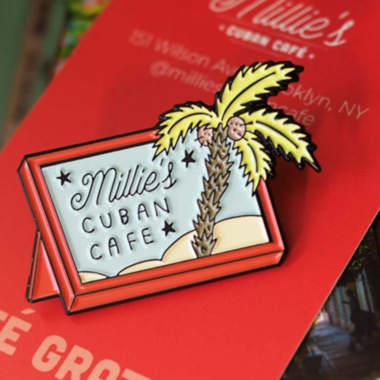 Millie's Cuban Cafe sticker