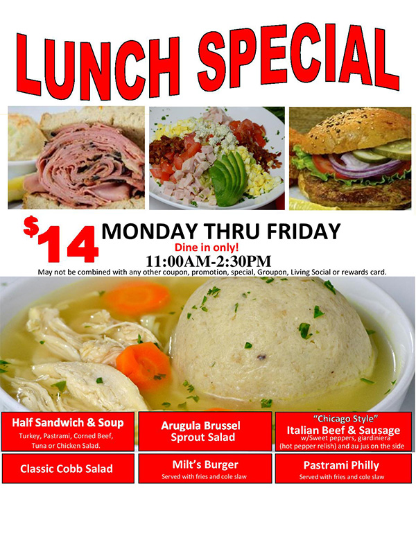 Lunch special photo