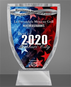 Business hall of fame cup