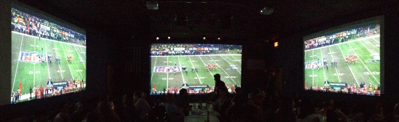 football watch party photo