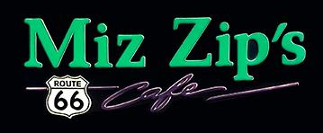 Miz Zip's logo