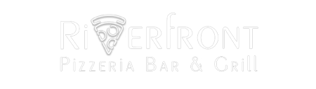 Riverfront Pizzeria logo top