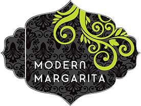 Modern Margarita logo scroll