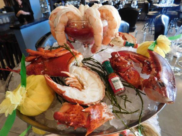 shrimp cocktail, lobster