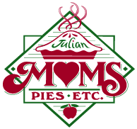 Moms Pie House logo scroll