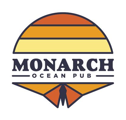 Monarch ocean pub logo
