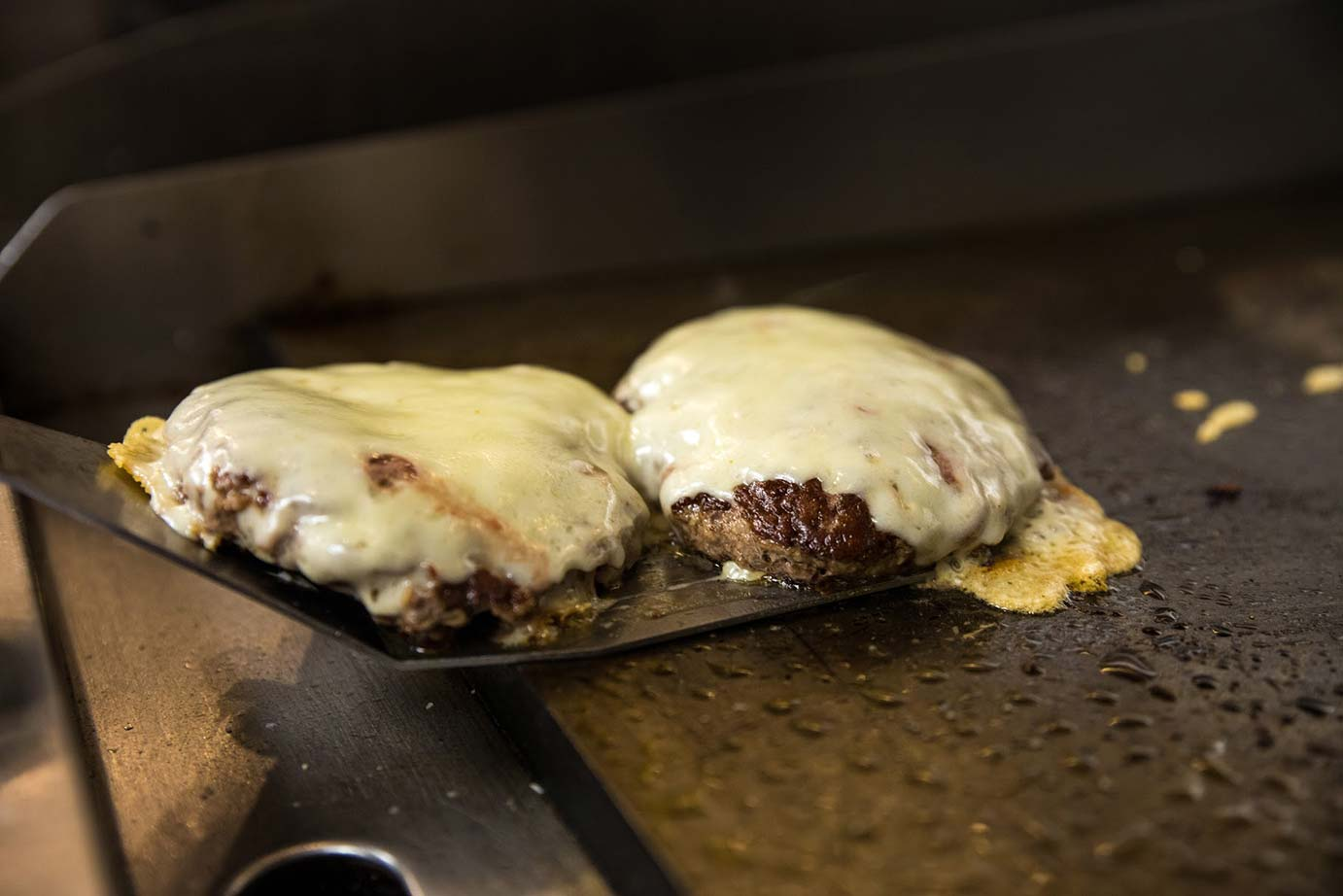Burgers with the cheese
