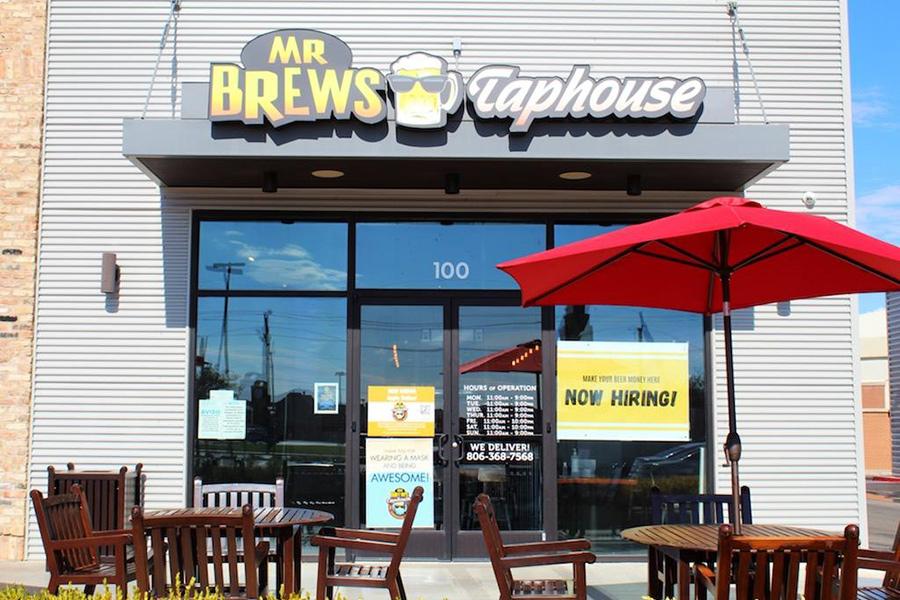 Exterior, Mr. Brew's Entrance