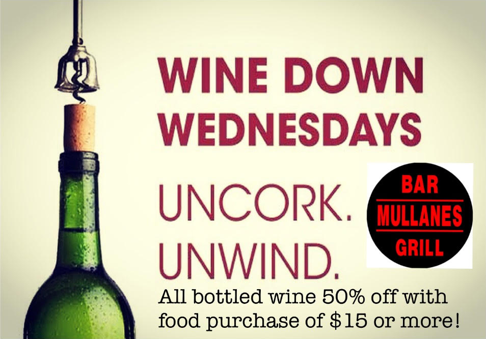 wine down wednesday flyer