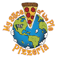 My Slice of the Pie Pizzeria logo top