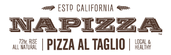 NAPIZZA logo scroll
