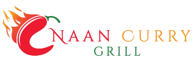 Naan Curry Grill logo scroll