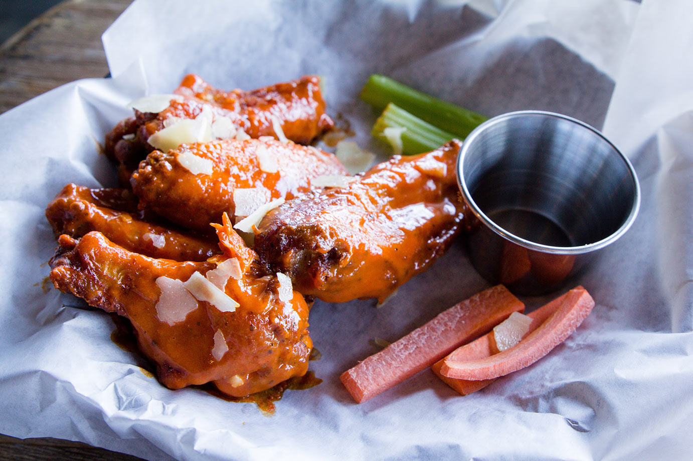 chicken wings food photo