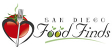 San Diego Food Finds logo
