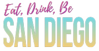 Eat Drink Be San Diego logo