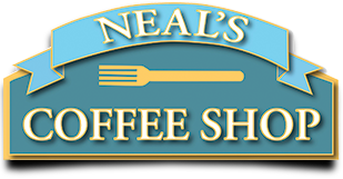 Neal's Coffee Shop logo top