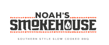 Noah's Smokehouse logo scroll