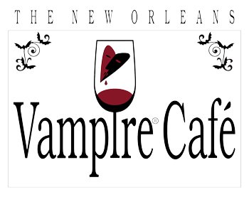New Orleans Vampire Cafe logo top