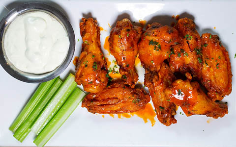 Naked buffalo wings