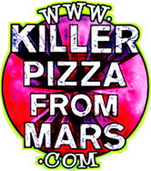 Killer Pizza From Mars logo scroll