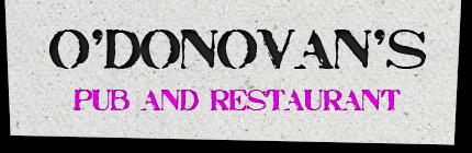O'Donovan's logo
