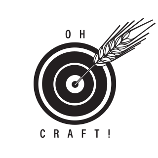 Oh Craft! Beer logo scroll