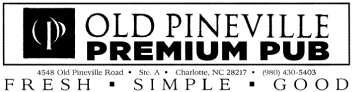 Old Pineville Premium Pub logo top