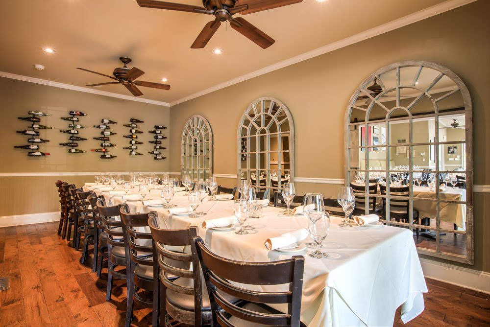 Wine Room – Up to 22 guests