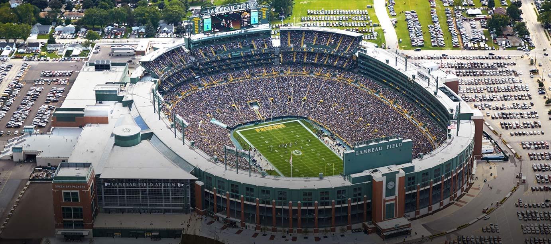 Bradley center aerial view