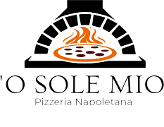 O Sole Mio Restaurant logo scroll
