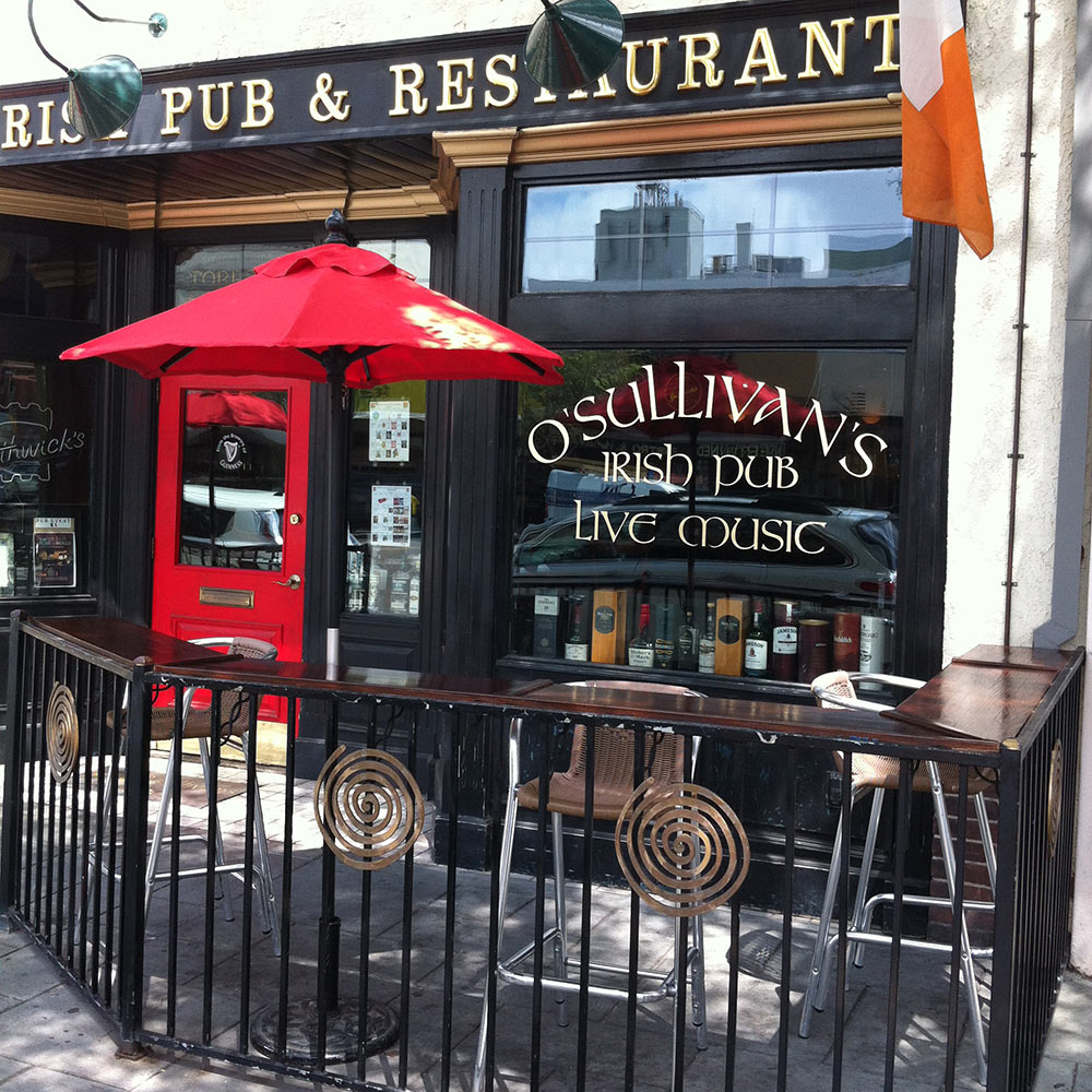 O'Sullivan's Irish Pub front entrance
