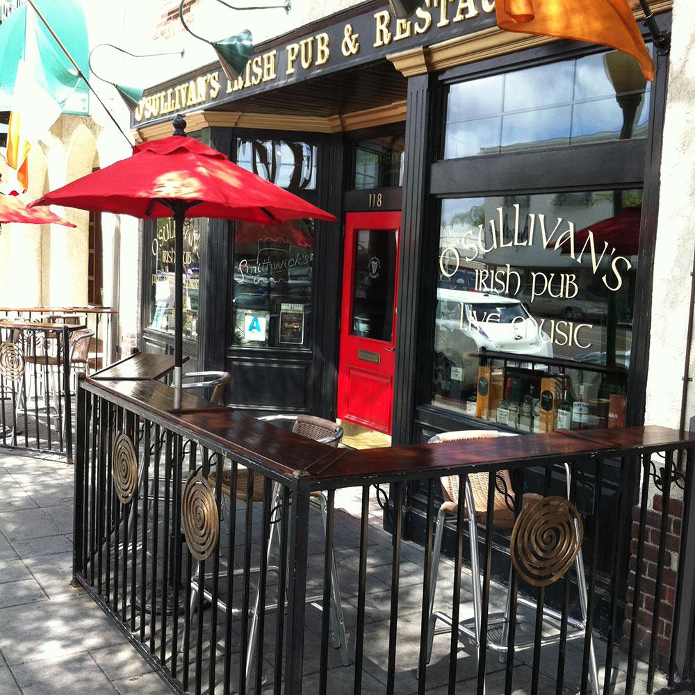 O'Sullivan's Irish Pub patio