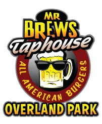 Mr Brews Taphouse - Overland Park logo scroll