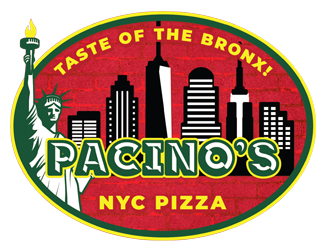 Pacino's NYC Pizza logo top