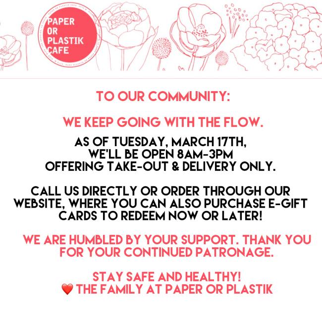 paper and plastik info flyer