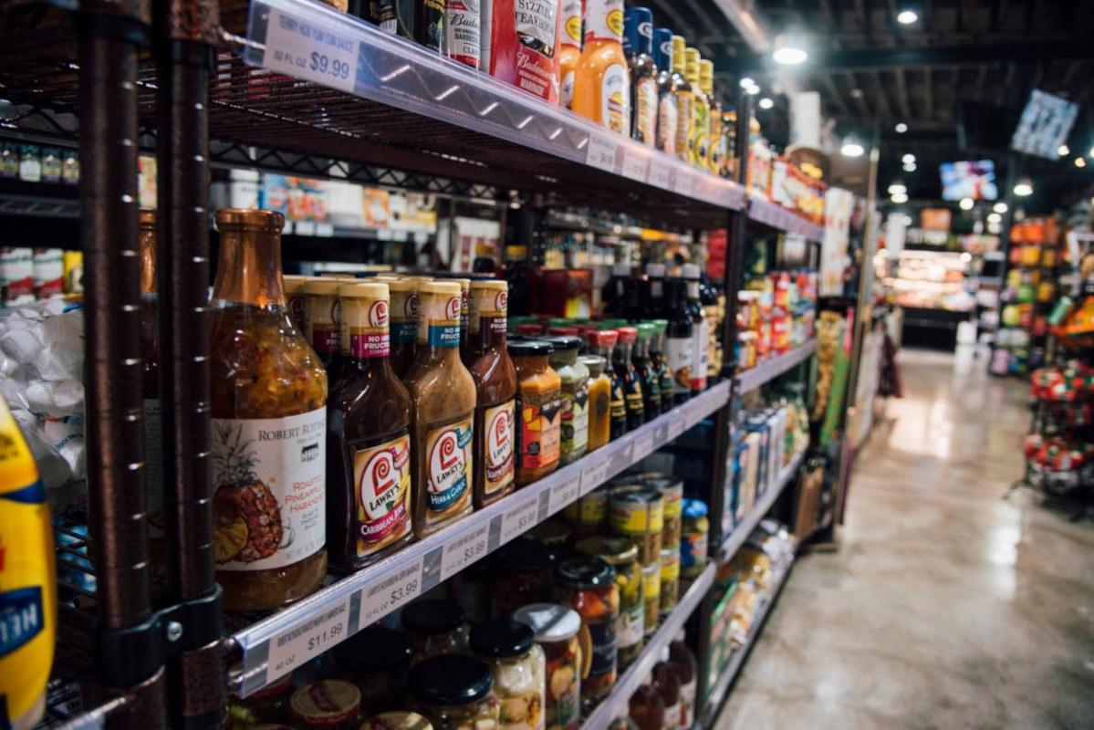 Park Place Market interior