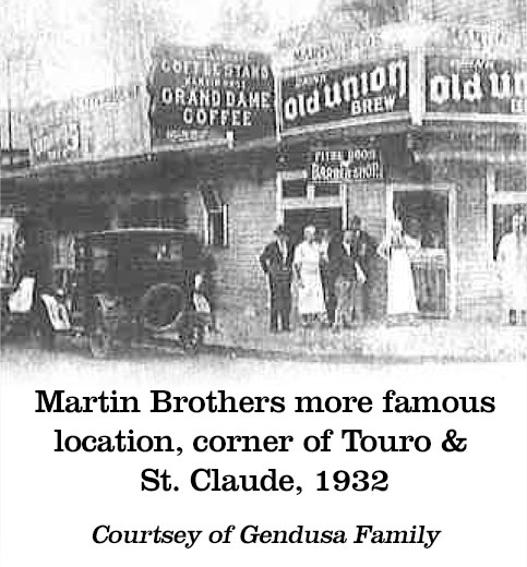 Martin Brothers more famous location