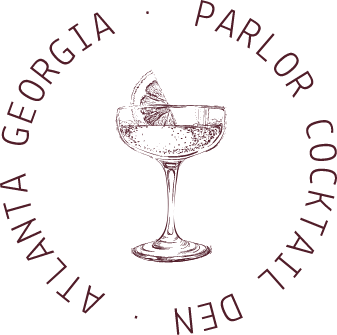 Cocktail glass logo