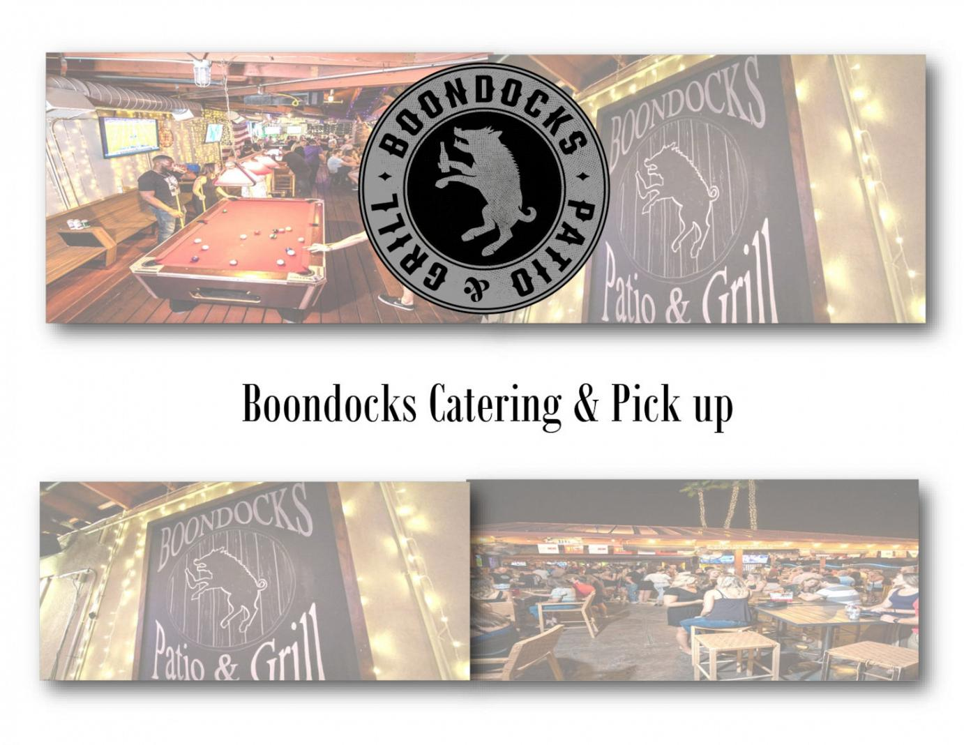 Boondocks Catering & Pick up