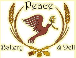 Peace Bakery logo top
