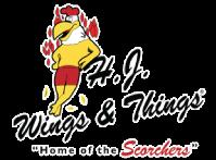 H.J. Wings & Things Peachtree City logo