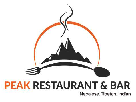 Peak Restaurant & Bar logo scroll