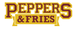 Peppers & Fries logo top