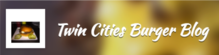 Twin Cities Burger Blog logo