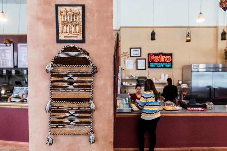 Petra Cafe restaurant interior