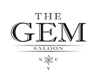 the gem saloon nyc logo
