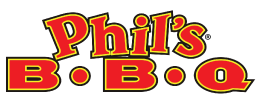 Phil's BBQ logo scroll