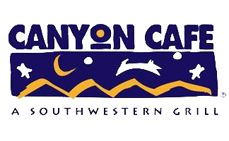Canyon Café - Phoenix logo scroll